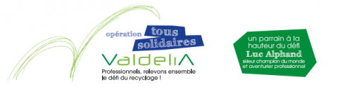Top départ de l'opération « Tous Solidaires Valdelia » dans 12 villes françaises