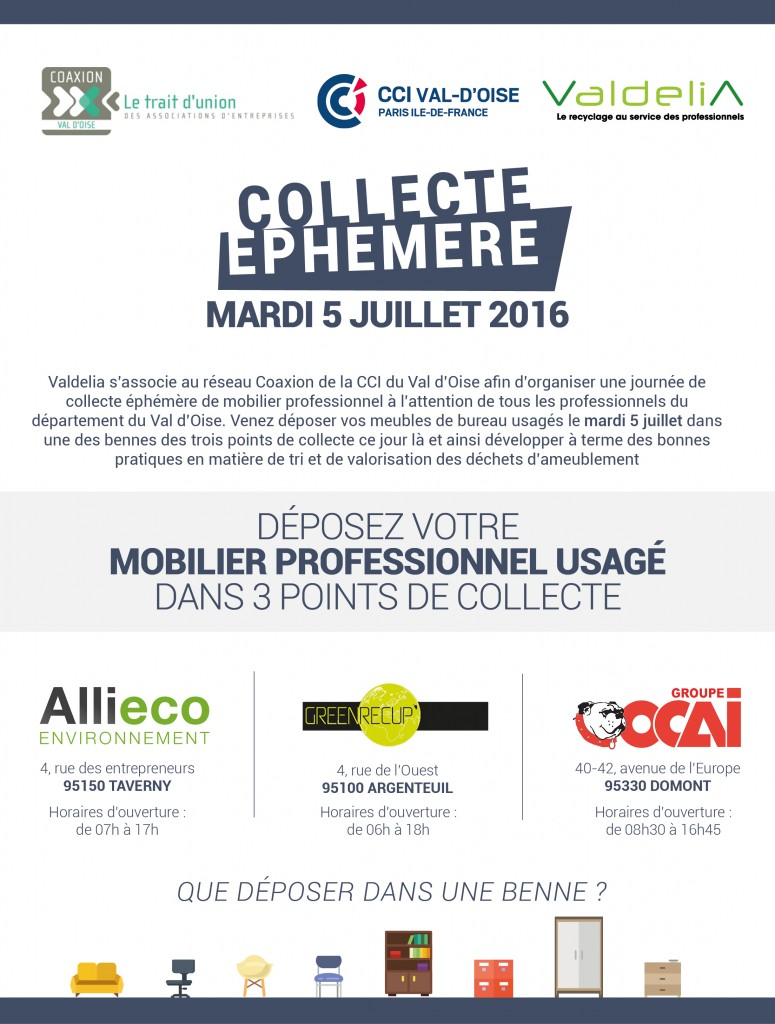 Collecte ephemere - Save the date