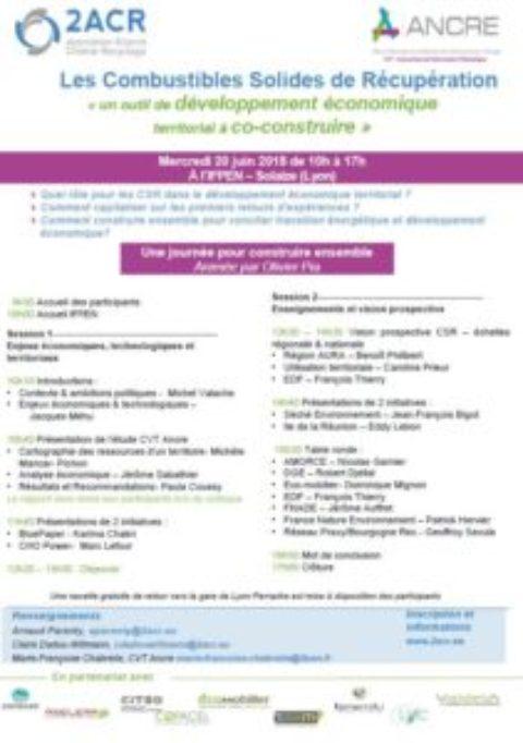 COLLOQUE «LES CSR : UN OUTIL DE DÉVELOPPEMENT ÉCONOMIQUE TERRITORIAL À CO-CONSTRUIRE»
