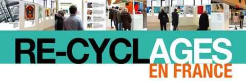 Exposition « RE-CYCLAGES en France » du lundi 8 au dimanche 28 avril 2019 : vous ne verrez plus vos déchets comme avant !