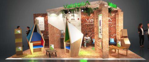 Valdelia participe au Workspace Expo 2019, le salon du design, du mobilier & de l'aménagement des espaces de travail.