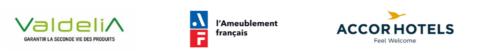 Partenariat Greet – Valdelia & l'Ameublement français: Aménager des hôtels en mobilier de seconde vie
