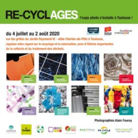 Exposition RE-CYCLAGES par Alain Fouray à Toulouse