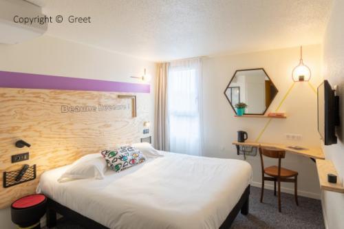Chambre d'hôtel de la marque éco-responsable Greet