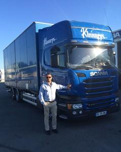 Kinnarps France Philippe Bellaton directeur logistique
