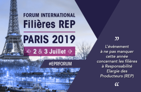Valdelia participe au premier Forum International de Paris sur la REP les 2 & 3 juillet 2019.