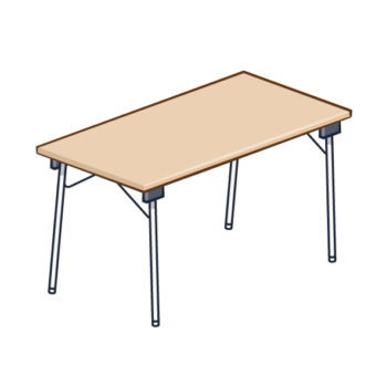 <b>TABLE PLIANTE</b>